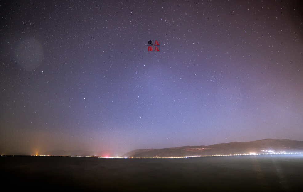 洱海星空图片图片
