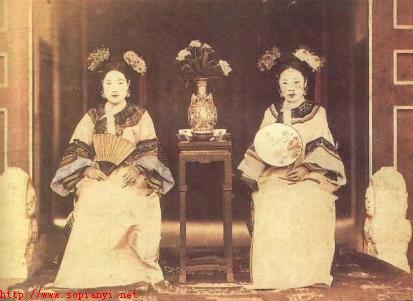 清朝格格发型造型图片大全(4)图片