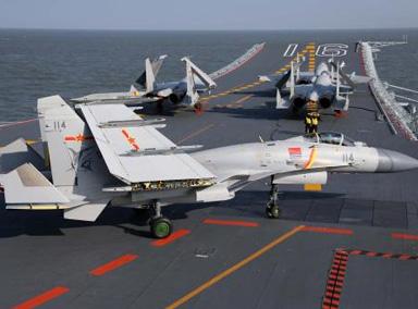 中国要有双座版航母舰载机了!?