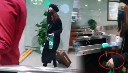 曝姚笛乘高铁探班文章