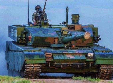央视曝光99A坦克正面防穿达1米