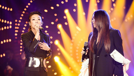 林忆莲 张惠妹《也许明天》 歌手总决赛惊艳全场