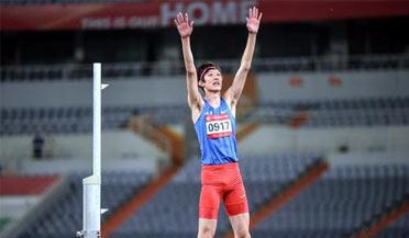 29岁跳高名将张国伟宣布退役