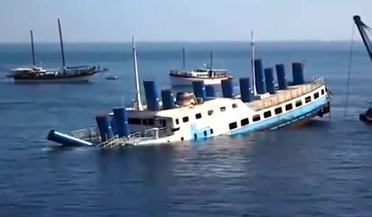 实拍船只沉没全过程,恐怖!