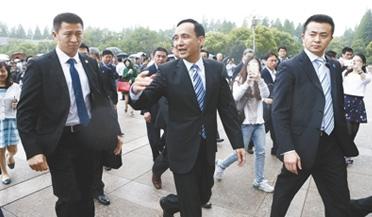 习近平今日会见国民党主席朱立伦