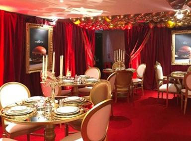 麦当劳奢华餐厅英式管家交响乐俱全