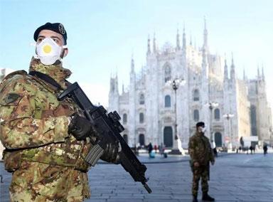 意大利卫生部长宣布封城至4月中旬