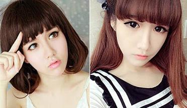 萌妹子主播论长发短发的区别