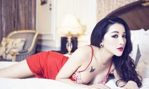 优雅王族范儿 气质性感美女半裸出镜性感大片