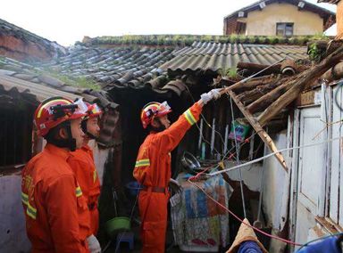 云南通海今日凌晨再次发生5.0级地震