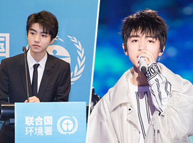 王俊凯被任命联合国环境署亲善大使