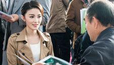 杭州大学生招聘会上美女如云 吸睛无数