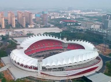 武汉军运会开幕式舞台