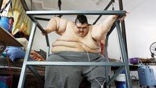 世界最胖男一年减500斤