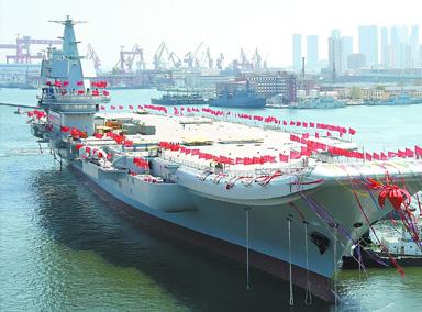 国产航母要海试,禁航区已划定!
