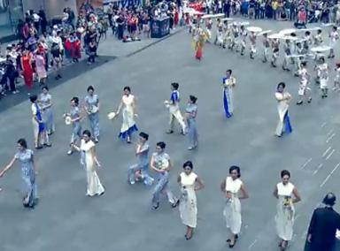 快看!从纽约传过来的中国视频