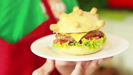 越南餐厅推出冠状病毒汉堡