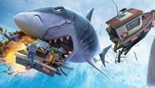 【饥饿鲨:进化】饥饿鲨鱼穿上装备大屠杀