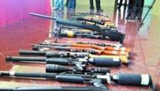 青海警方击毙一杀人案主犯 缴获一支56式冲锋枪