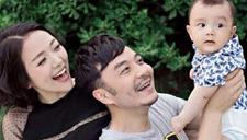 汪涵娇妻抱6个月儿子出镜 小沐沐瞪眼卖萌