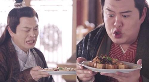 《萌妻食神》穿帮镜头 麻婆豆腐变色了