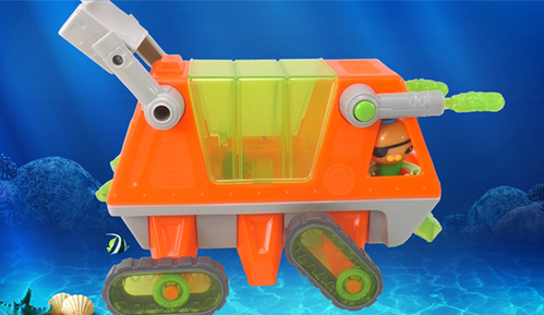 海底小纵队之呱唧潜艇救援车