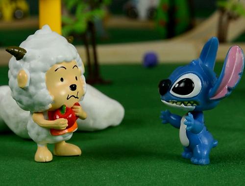 道歉的技巧,史迪仔,史迪奇,星际宝贝,阿紫玩具