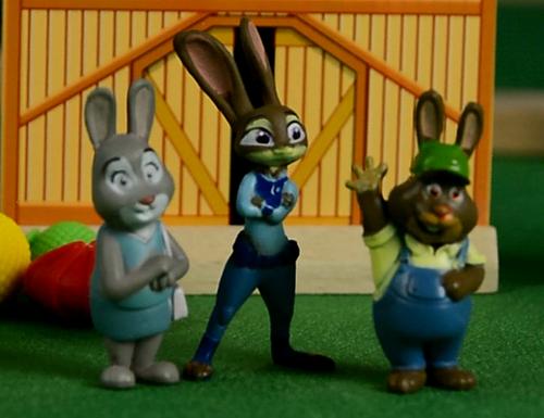 朱迪的梦想,疯狂动物城,安迪尼克,阿紫玩具