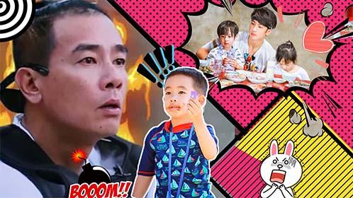 吴尊、陈小春亲身演绎别人的爸爸VS你的爸爸,山鸡哥扎心不?