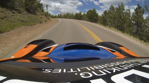 20公里山路弯道8分钟跑完,记录仪镜头犹如VR赛车游戏