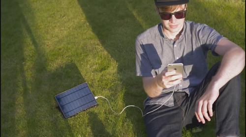 【黑马公社497】太阳能充电宝,一小时充满6台iPhone,关键还防水!