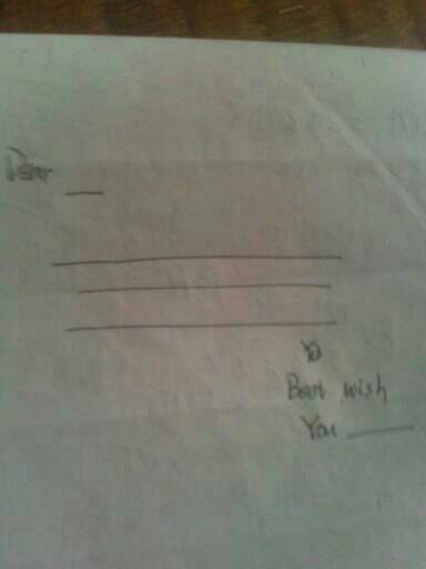 英语书信的正确格式?图片
