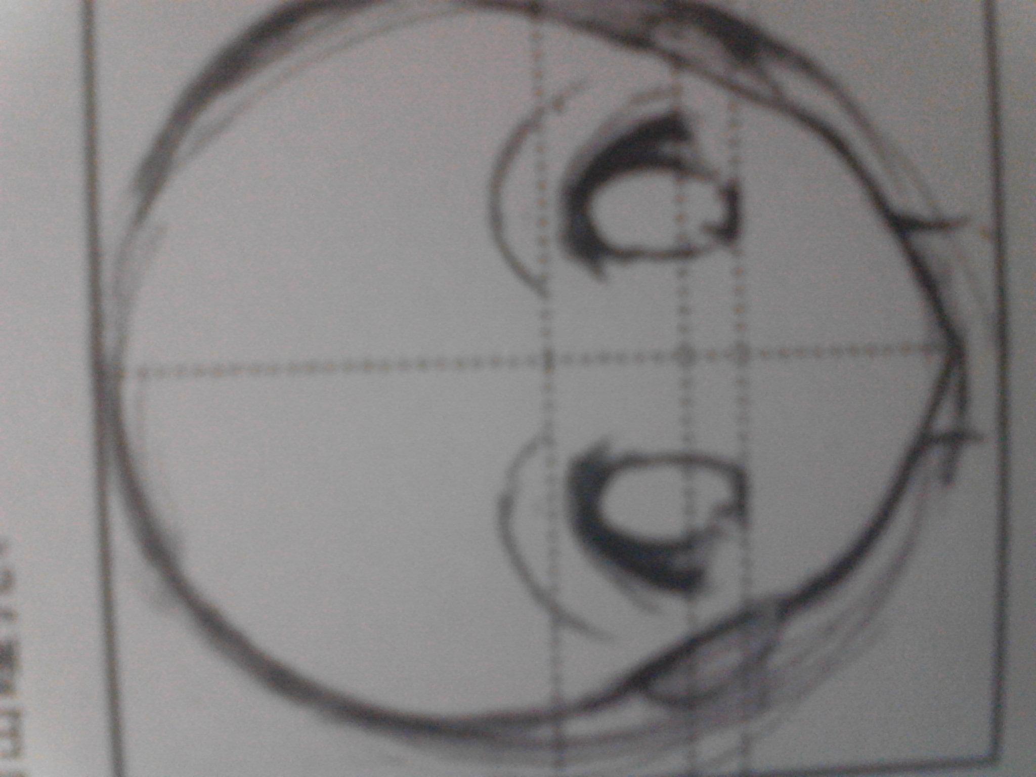 动漫人物素描眼睛怎么画好看
