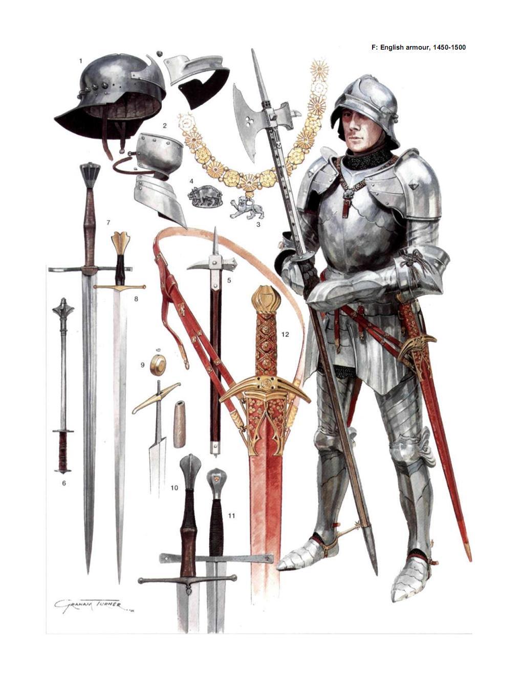 欧洲中世纪盔甲的彩图书籍,网上有很多它的图片但就是找不到原书,有图片