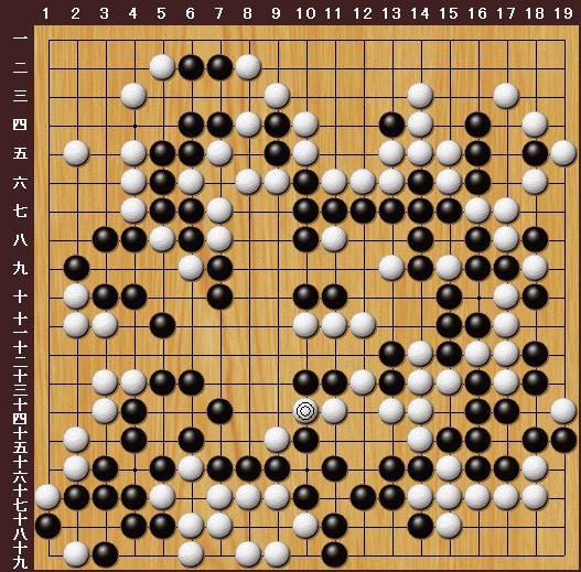求探讨如下围棋棋局图片