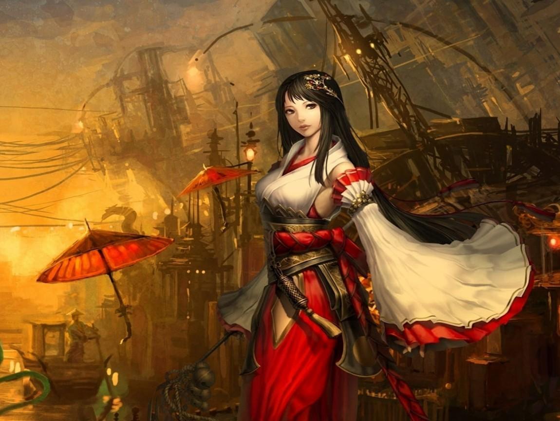日本古代动漫美女? 百度知道