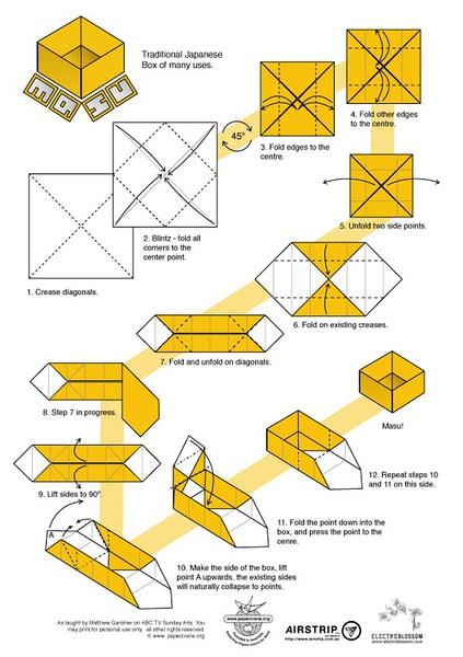 用纸怎么折盒子_百度知道