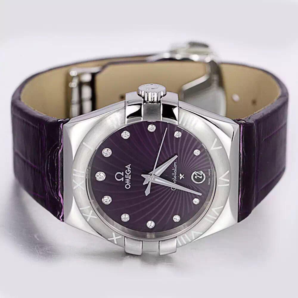 欧米茄手表,换成皮表带多少钱图片