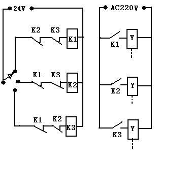 电磁阀控制电路图片