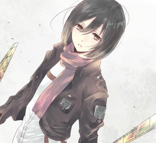 Mikasa Ackerman Child 求图片:进击的�...