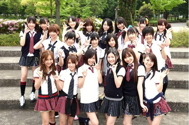 优酷视频日本20名学生妹校花舞台演唱的歌曲叫什么