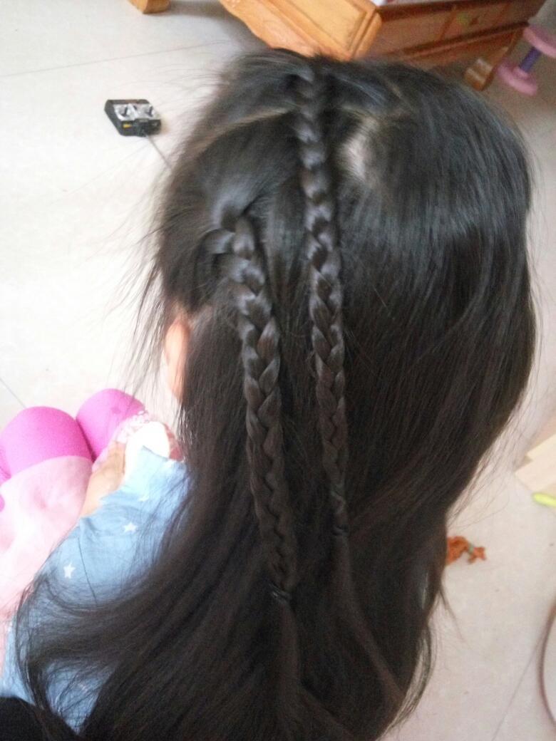 【萌宝发型】琪宝宝的小辫子图片