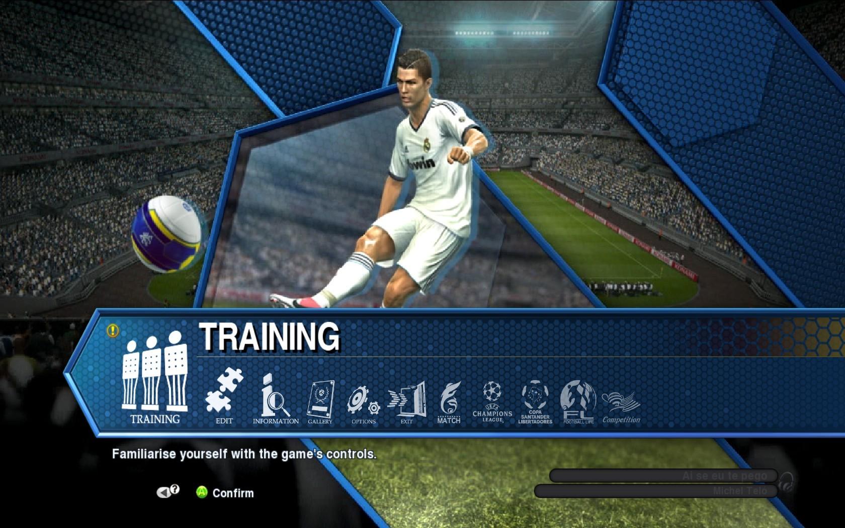 实况足球2013_求文档: 实况足球2013如何让编辑球员技能和能力值等选项,能不能详细
