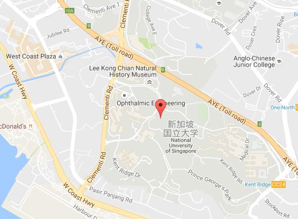 新加坡国立大学地址