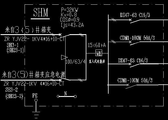 请问这个电箱里面的各种符号代表是什么东西?配完这个