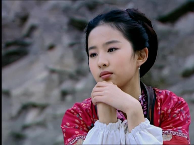 Liu Yi Fei >> 电视剧赵灵儿和阿奴换衣服图片_百度知道