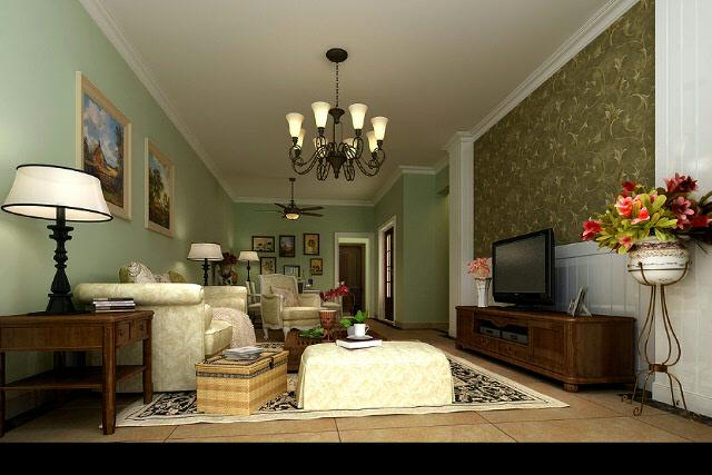 米白色的地砖和同色地脚线,简欧风格,小户型,墙面用什么颜色呢?图片