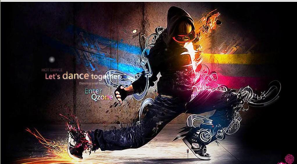 qq空间动画装扮里炫动舞步的背景音乐是什么歌?图片