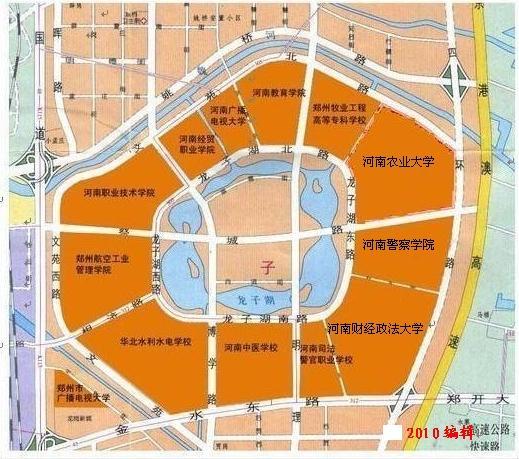 想知道:郑州市 郑州各个大学分布 在哪?