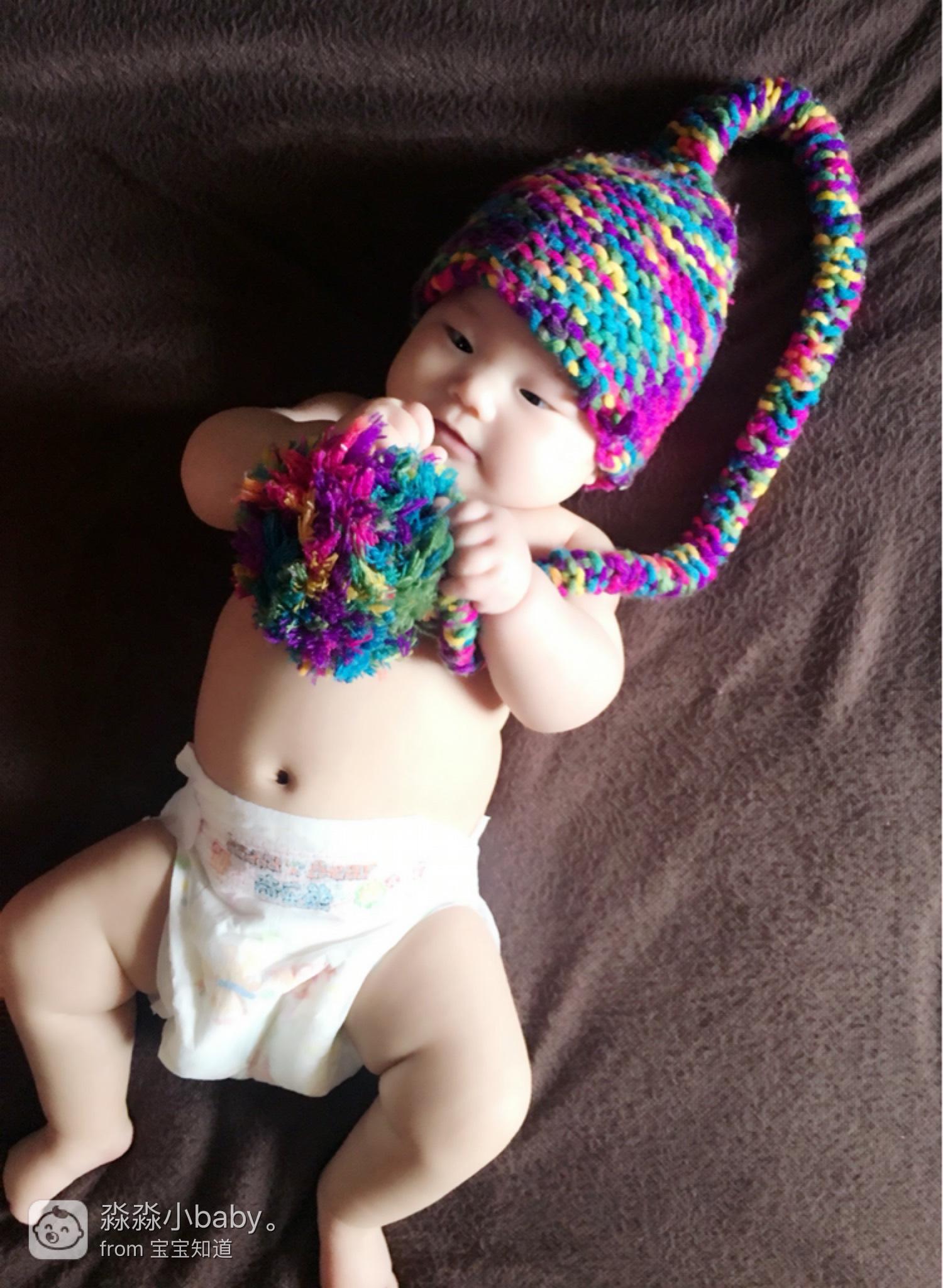 自拍宝宝照,好玩 意义=成就图片